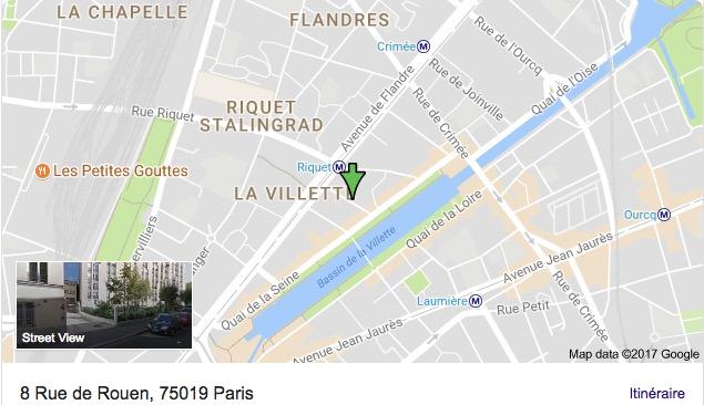 park box auto st rouen flandre 8 rue de rouen paris 75019 parking box auto individuel. Black Bedroom Furniture Sets. Home Design Ideas